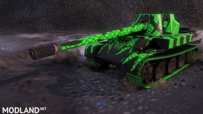 "Rheinmetall Skorpion G pack ""blue, green, hot pink"" 1.404 [1.4.0.1], 2 photo"